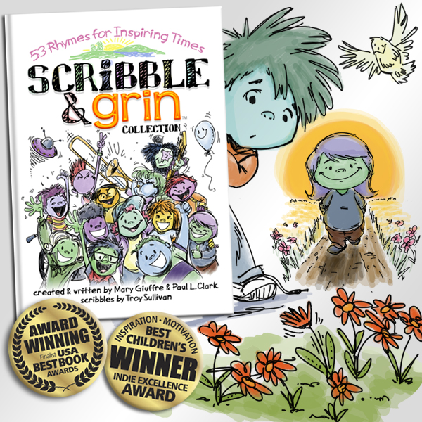book: Scribble & Grin: 53 Rhymes for Inspiring Times